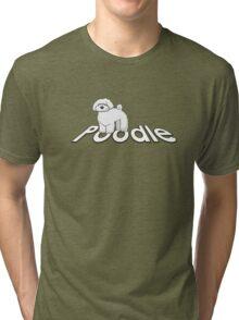 Poodle Cockapoo Labradoodle Tri-blend T-Shirt