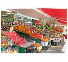 Fruits  Market Poster