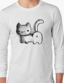 Cat Butt Long Sleeve T-Shirt