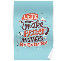 Better Mistakes Poster