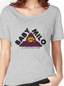 Baby Milo Sakura Leaf Women's Relaxed Fit T-Shirt