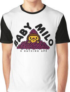 Baby Milo Sakura Leaf Graphic T-Shirt