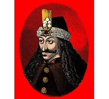 Vlad the Impaler, the real Dracula Photographic Print