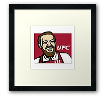 Mc Gregor UFC Framed Print