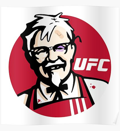 Colonel UFC Poster
