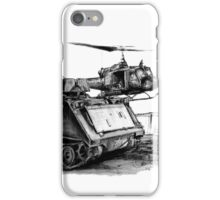 M113 and UH1 iPhone Case/Skin