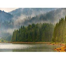 Lake Vidra in Romania Photographic Print