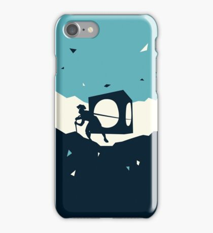 Cracks in the universe iPhone Case/Skin