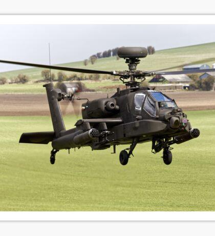 British Army Air Corps AugustaWestland Apache AH1 Helicopter Sticker
