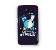 The Clock Strikes Twelve  Samsung Galaxy Case/Skin