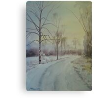 Shades Of White Canvas Print