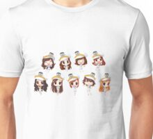 Girl's generation chibis Unisex T-Shirt