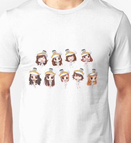 Girl's generation chibis Unisex T-Shirt