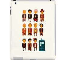Doctor Who - Eleven Doctors iPad Case/Skin