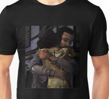Lee and Clementine Hugging Unisex T-Shirt