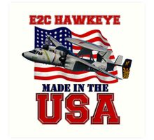 E-2C Hawkeye Made in the USA Art Print