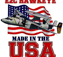 E-2C Hawkeye Made in the USA by Mil Merchant