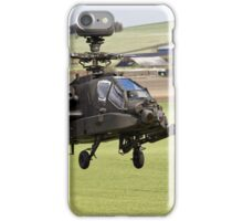 British Army Air Corps AugustaWestland Apache AH1 Helicopter iPhone Case/Skin