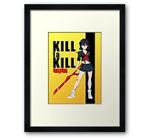 Kill la Bill Framed Print