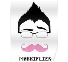 Markiplier/Warfstache (Eyebrow) Poster