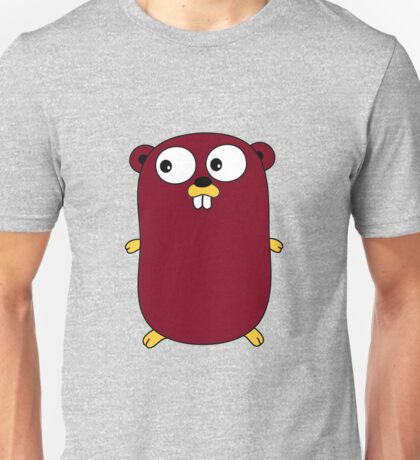 Go Lang Gopher Unisex T-Shirt