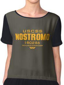 Alien Nostromo crest Chiffon Top