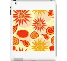 Floral pattern background  iPad Case/Skin