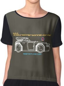 Aliens Armoured Personnel Carrier Chiffon Top
