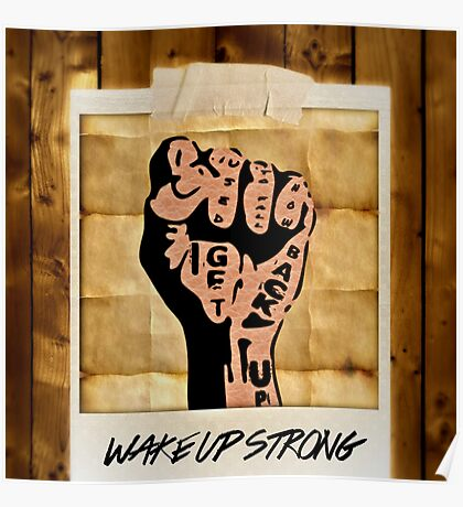 Wake Up Strong! Poster