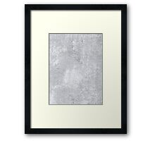 Abstract silver paper Framed Print