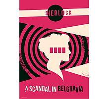 Scandal in Belgravia Photographic Print