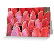 Water Melon Greeting Card
