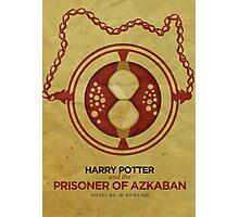 Harry Potter and the Prisoner of Azkaban Minimalist Poster Photographic Print