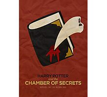 Harry Potter and the Chamber of Secrets Minimalist Poster Photographic Print