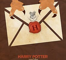 Harry Potter and the Sorcerer's Stone Minimalist Poster by Risa Rodil