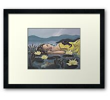 Trial By Water #2 Framed Print