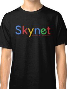 Terminator Skynet (Google) New Logo with Description Classic T-Shirt