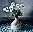 Daisies in a Vase by Albert