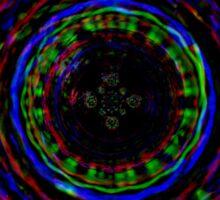 Rainbow Spiral Sticker