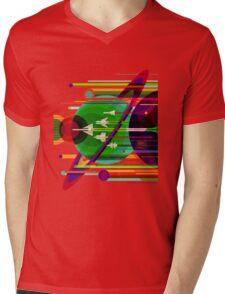 The Grand Tour Mens V-Neck T-Shirt