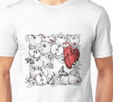 coronary apples Unisex T-Shirt