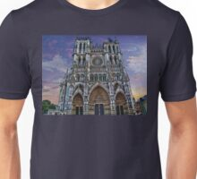 France. Amiens. Amiens Cathedral. Unisex T-Shirt
