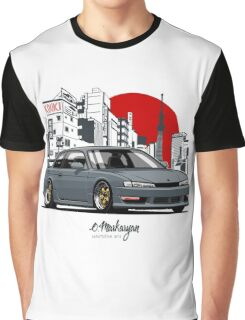 Nissan Silvia S14 (200SX) Kouki Graphic T-Shirt
