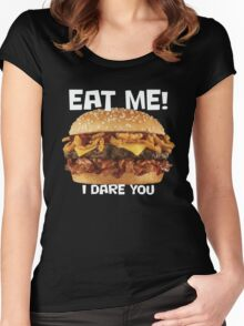 Eat Me Women's Fitted Scoop T-Shirt