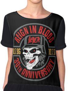 Slayer's 30th Anniversary Tee Chiffon Top