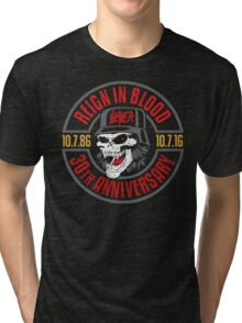 Slayer's 30th Anniversary Tee Tri-blend T-Shirt