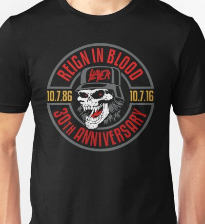 Slayer's 30th Anniversary Tee Unisex T-Shirt