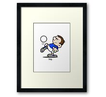 2014 World Cup - Italy Framed Print