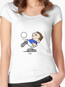 2014 World Cup - Italy Women's Fitted Scoop T-Shirt