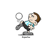 2014 World Cup - Argentina Photographic Print
